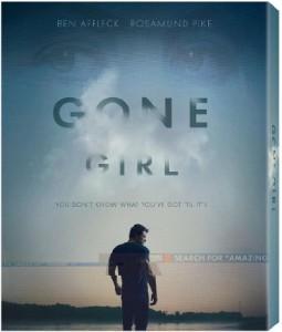 Gone Girl Blu Cover